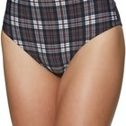 Volcom Plaid Attitude Ladies Swimsuit
