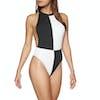 Volcom ECOTRUE Simply Rib Womens Swimsuit - Black