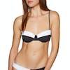 Volcom ECOTRUE Simply Rib Bandeau Bikini Top - Black