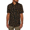 Volcom Ozzie Cat Short Sleeve Shirt - Black