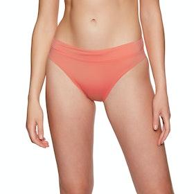 SWELL Miami High Cut Bikini Bottoms - Coral