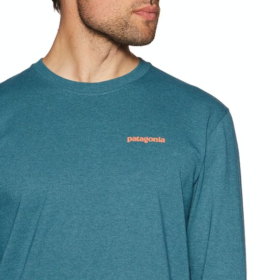 T-Shirt à Manche Longue Patagonia Flying Fish Responsibilitee