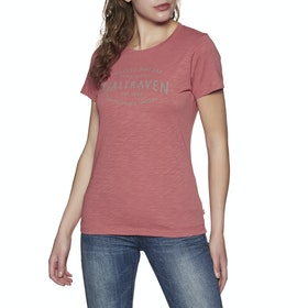 Fjallraven Est. 1960 Womens Short Sleeve T-Shirt - Dahlia