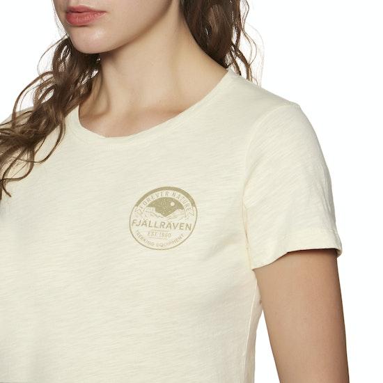 T-Shirt de Manga Curta Senhora Fjallraven Forever Nature Badge