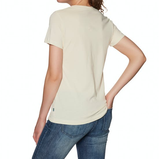 Fjallraven Arctic Fox Print Womens Short Sleeve T-Shirt