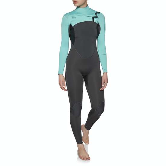 Xcel Comp 3/2mm Chest Zip Ladies Wetsuit