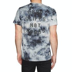 Planks Drop Cliffs Short Sleeve T-Shirt - Tie Dye