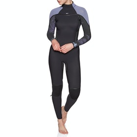 O'Neill Psycho One 3/2 Back Zip Womens Wetsuit - Black Harbour Mist