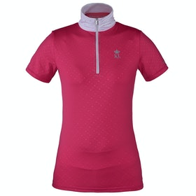 Kingsland Equestrian Benissa Show Ladies Competition Shirt - Pink Carmine