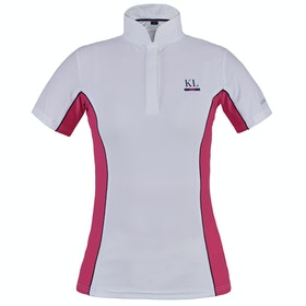 Kingsland Equestrian Ibi Show Ladies Competition Shirt - Pink Carmine