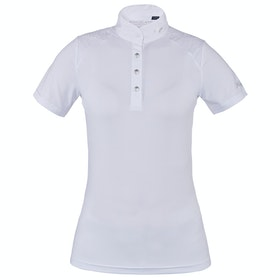 Kingsland Equestrian Olivia Show Ladies Competition Shirt - White