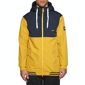 Planks Reunion Soft Shell Snow Jacket - Mustard