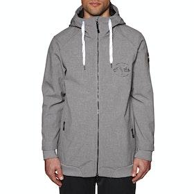 Planks Reunion Soft Shell Snow Jacket - Sports Grey