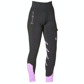 Firefoot Ripon Stretch Ladies Riding Breeches - Black Lilac