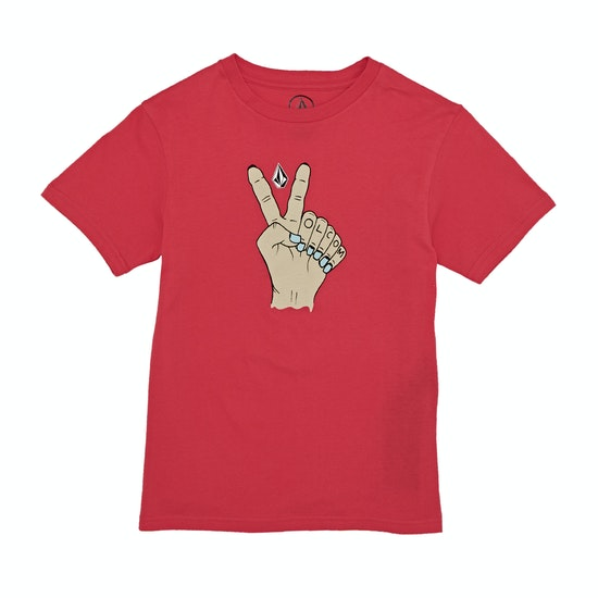 Volcom Trooper Bsc Kids Short Sleeve T-Shirt