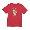 Volcom Trooper Bsc Kids Short Sleeve T-Shirt - True Red