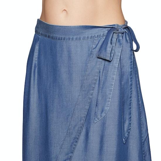 Seafolly Chambray Wrap Skirt