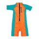 Rip Curl Groms Short Sleeve Sun Suit Boys Rash Vest