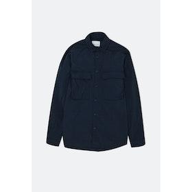 Samsoe Samsoe Coney Shirt 10633 L S Shirt - Dark Sapphire