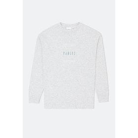 Parlez Charter L S T-Shirt - Ash