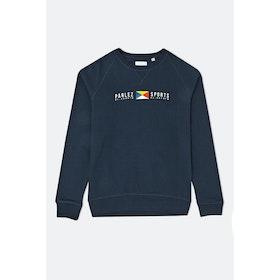 Parlez Tjalk Crew Sweatshirt - Navy