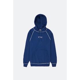 Polar Skate Co Contrast Default Kapuzenpullover - Dark Blue/white