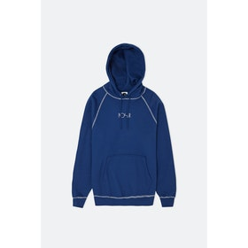 Polar Skate Co Contrast Default Hoodie - Dark Blue/white
