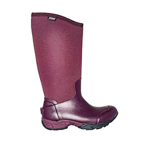 Bogs Essential Light Tall Solid Ladies Wellingtons - Eggplant