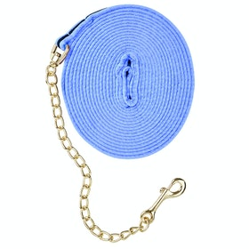 Kincade Two Tone Padded With Chain Lunge Line - Blue Navy
