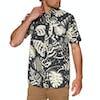 Volcom Scrap Floral Short Sleeve Shirt - Asphalt Black