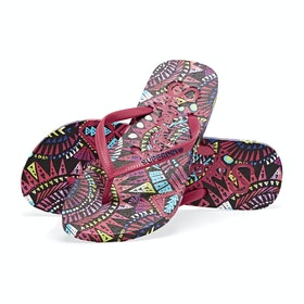 Superdry Super Sleek Aop Womens Sandals - Layla Tropical
