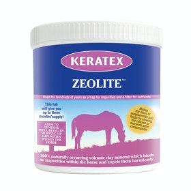 Keratex Zeolite Feed Supplement - Clear
