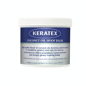 Keratex Coconut Oil Balm Hoof Care - Black