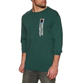 Brixton Stowell VIII Long Sleeve T-Shirt - Emerald