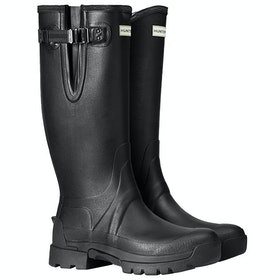 Hunter Balmoral II Side Adjustable 3mm Neoprene Mens Wellingtons - Black