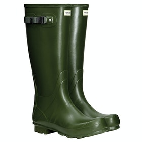 Hunter Norris Field Wellies - Vintage Green