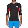 Rashguard Rip Curl Team Aggro Short Sleeve UV - Black