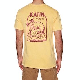 Katin Barrel Mouth Short Sleeve T-Shirt - Lager Mineral