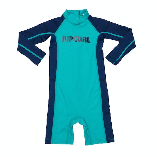 Rip Curl Grom Long Sleeve UV Suit Boys Rash Vest