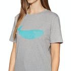 2 Minute Beach Clean Organic Big Whale Logo Short Sleeve T-Shirt