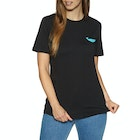 2 Minute Beach Clean Organic Small Whale Logo Short Sleeve T-Shirt