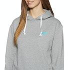 2 Minute Beach Clean Organic Whale Logo Pullover Hoody