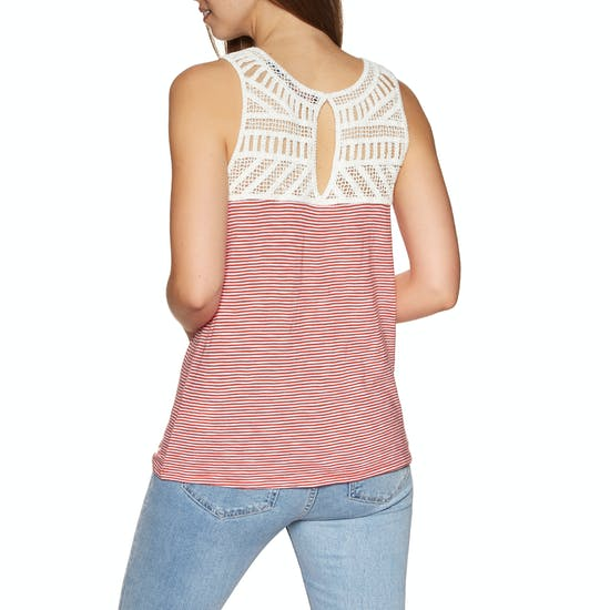 Superdry Kyla Crochet Lace Womens Tank Vest