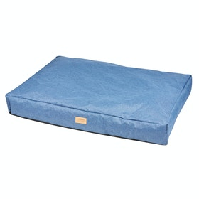 Weatherbeeta Pillow Denim Hundeseng - Blue
