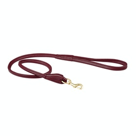 Trela para Cão Weatherbeeta Rolled Leather - Maroon