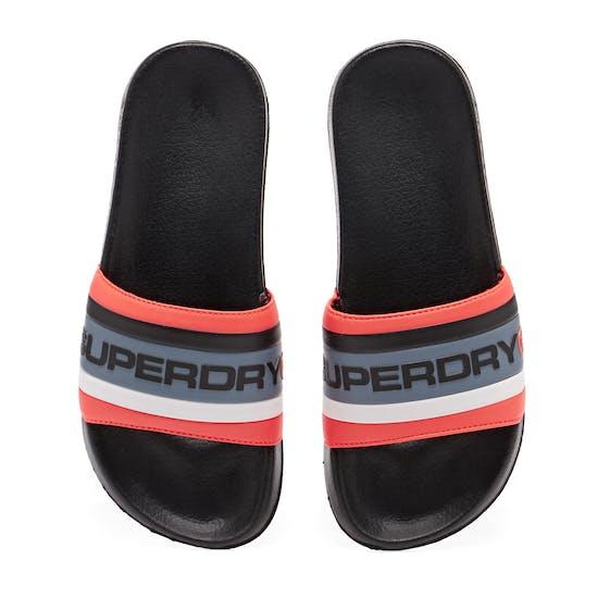 Superdry Retro Colour Block Pool V4b Sliders