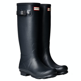Hunter Norris Field Mens Wellingtons - Navy