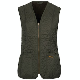 Barbour Fleece Betty Liner Ladies Gilet - Dark Olive