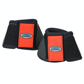 Weatherbeeta Impact Bell Over Reach Boots - Flame