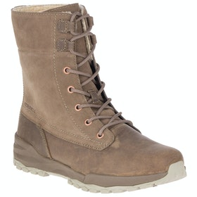 Bottes Merrell Icepack Guide Mid Lace Plr Waterproof - Stone